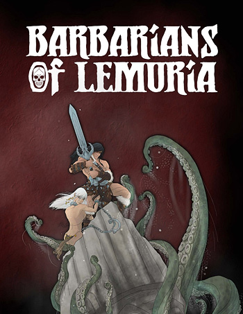 Barbarians of Lemuria: Mythic Edition