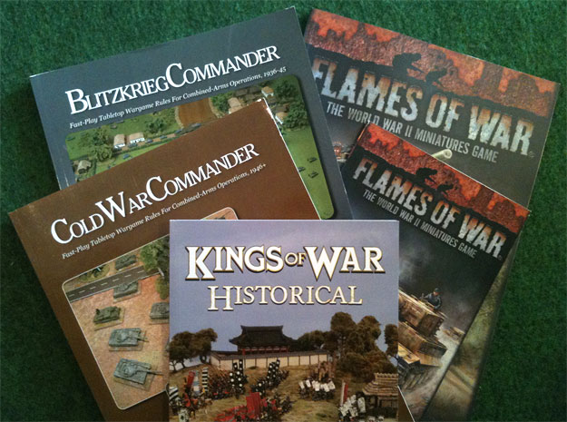 Wargames haul March 2017